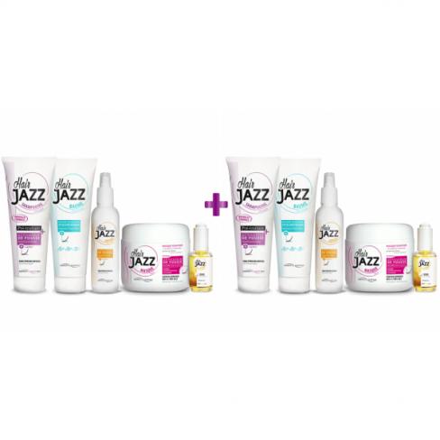 HAIR JAZZ - Programm für Wachstum und Pflege des Haars - Doppelset
